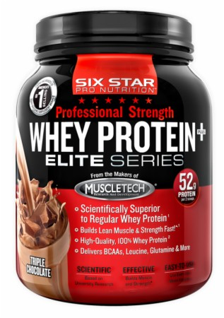 Six Star Pro Nutrition Professional Strength Whey Protein Plus